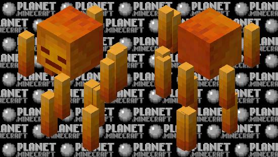 Better Blaze V2 Minecraft Skin
