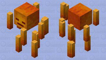 Better Blaze V2 Minecraft Mob Skin