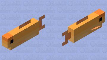Goldfish Minecraft Mob Skin