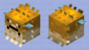 Fish with acupuncture Minecraft Mob Skin