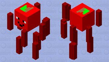 Apple Blaze Minecraft Mob Skin