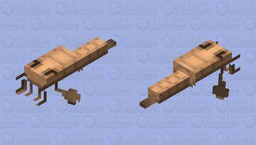 Eurypterid (Cambrian) Minecraft Mob Skin