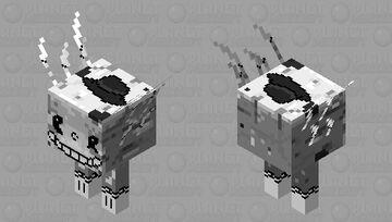 Cartoon Strider Minecraft Mob Skin