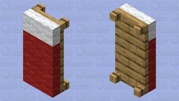 Average bed Minecraft Mob Skin