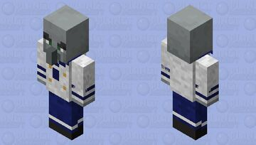 Sailor Vindicator (Male) Minecraft Mob Skin
