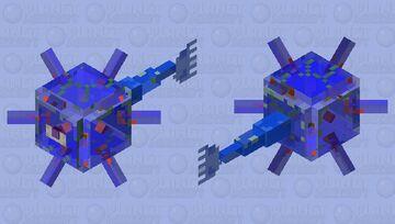 Camoflage Guardian Minecraft Mob Skin