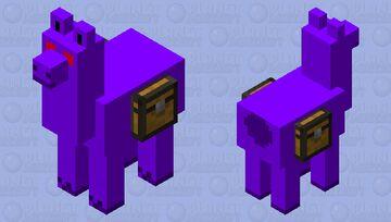 Void Llama Minecraft Mob Skin
