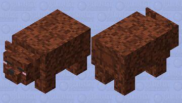 sleepy grizzly bear 🐻😴 Minecraft Mob Skin