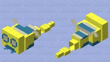 Dunsparce Minecraft Mob Skin