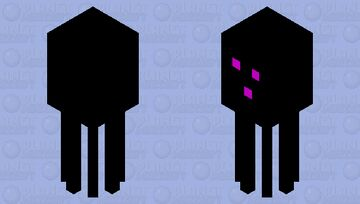 dark squid Minecraft Mob Skin