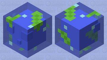 Ocean Slime - Biome Crossover Minecraft Mob Skin