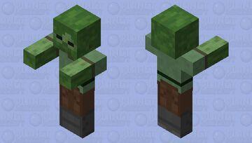 Alex Zombie Minecraft Mob Skin