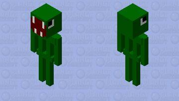 t-rex but it's a still object Minecraft Mob Skin