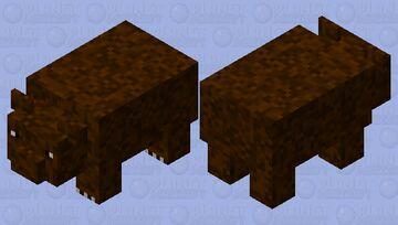 a bear but better Minecraft Mob Skin