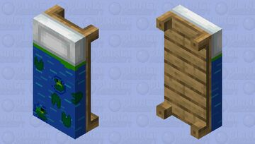 Frog pond blanket--- request from Aspirin60 Minecraft Mob Skin