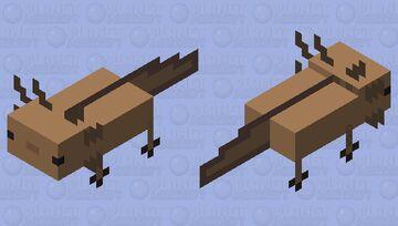 plastic axolotl Minecraft Mob Skin