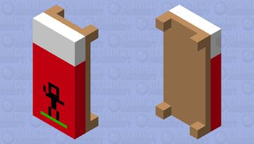 Nature Bed  (JAVA EDITION) Minecraft Mob Skin