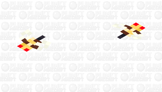Bee / Polen / Angry / original size Minecraft Skin