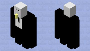 Silly golem in suit Minecraft Mob Skin
