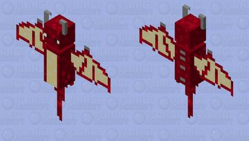 baby red dragon Minecraft Mob Skin