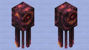 Poisonous squid Minecraft Mob Skin