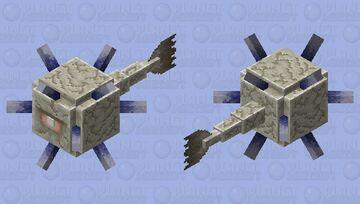 Modern-Style Elder Guardian Minecraft Mob Skin