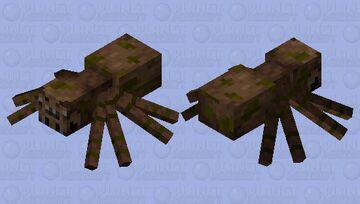 Original Spider (1.14 - newer versions) Minecraft Mob Skin