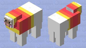 Candy Corn Sheep Minecraft Mob Skin