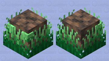 Grassy Slime Minecraft Mob Skin