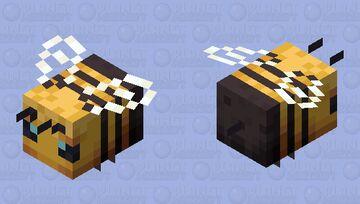 Improved Bee Minecraft Mob Skin