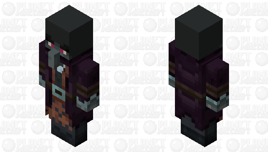 The Illusioner Level2 (Final Version) Minecraft Skin
