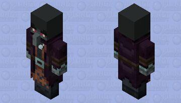 The Illusioner Level2 (Final Version) Minecraft Mob Skin