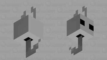 Hollow Knight Fishing Bobber (The Vessel) Minecraft Mob Skin
