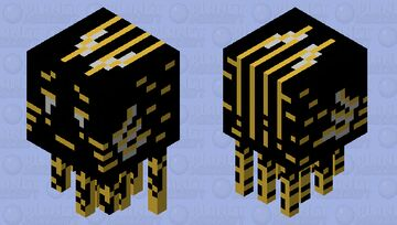 CELABRATING 50th mob skin silver and gold ghast Minecraft Mob Skin