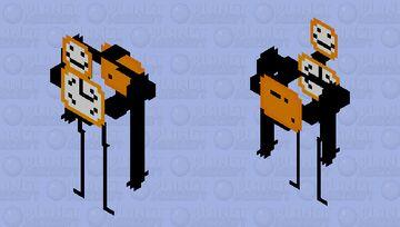 Alarmclock Golem Mob Skin Minecraft Mob Skin