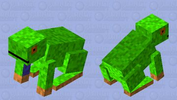 Jungle frog Minecraft Mob Skin