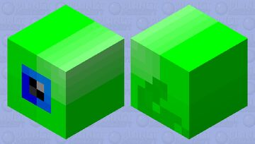 Jacsepticeye slime reskin Minecraft Mob Skin