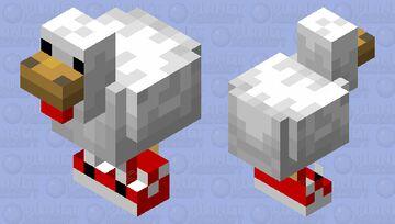 drip chicken Minecraft Mob Skin