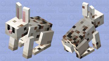 freckled rabbit (minecraft earth) Minecraft Mob Skin