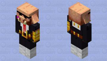 Piglin Brute Agent Minecraft Mob Skin