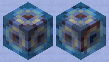 Lost blue artifact Minecraft Mob Skin