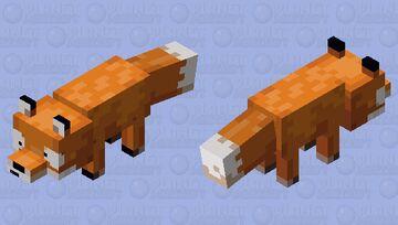 bugged fox Minecraft Mob Skin