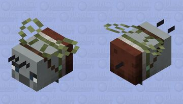 ominous bee / baby illager Minecraft Mob Skin