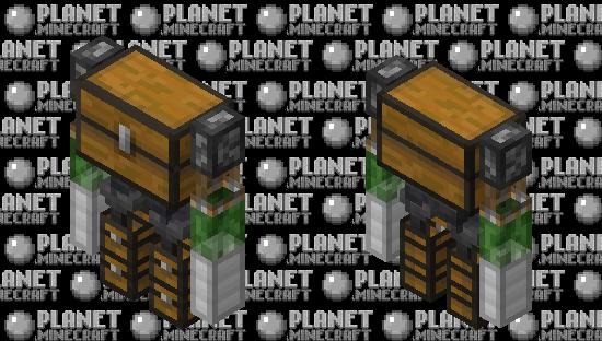 The Item Sorter Minecraft Skin