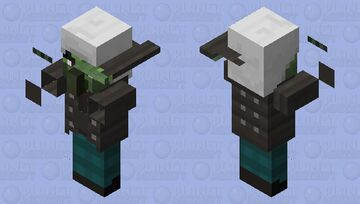 Zombie vindicator Minecraft Mob Skin