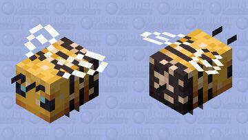 Improved Bee (nectar bee) Minecraft Mob Skin