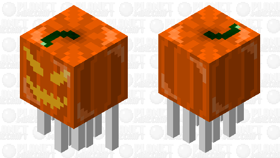 Giant Inflatable Jack-o-lantern Minecraft Skin