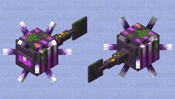Ancient Guardian (Minecraft HD Guardian Skin) Minecraft Mob Skin