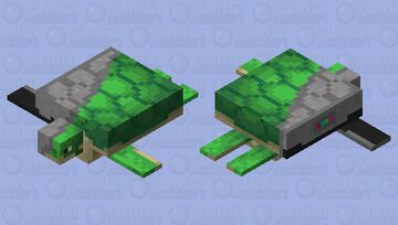 Robot Turtle (v1) Minecraft Mob Skin