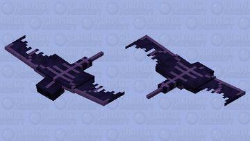 Paranoic Phantom (𝕱𝖔𝖗𝖇𝖎𝖉𝖉𝖊𝖓 𝕾𝖔𝖚𝖑𝖘) Minecraft Mob Skin